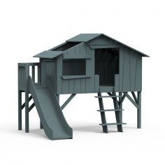 Lit-cabane-toboggan-plateforme-gris-orage