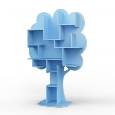 Bibliotheque-enfant-arbre-bleu-azur