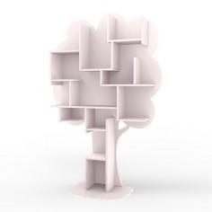 Bibliotheque-enfant-arbre-rose-poudre