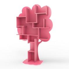 Bibliotheque-enfant-arbre-rose-ete