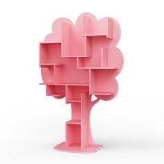 Bibliotheque-enfant-arbre-rose-tres-clair