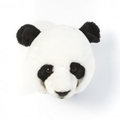 Déco murale enfant peluche Tête de Panda
