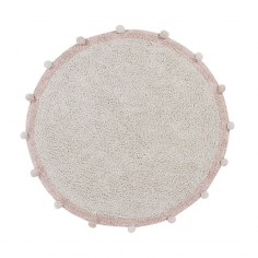 Tapis-enfant-lavable-coton-rose