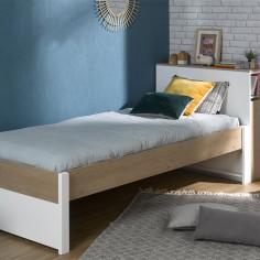 Lit enfant avec tete de lit made in france