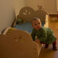 chambre fille montessori