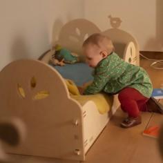 chambre bébé montessori