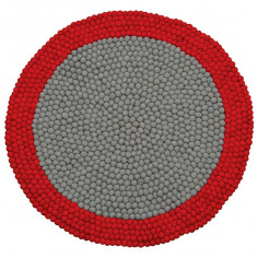 Tapis-boule-rouge-et-gris