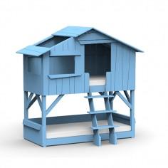 Lit-cabane-superpose-blanc-bleu-azur