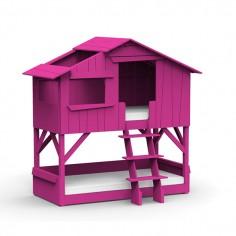 Lit-cabane-superpose-rose-ete