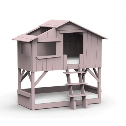 Lit-cabane-superpose-rose-hiver