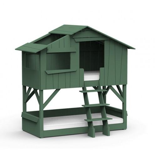 Lit-cabane-superpose-vert-jungle