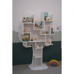 Bibliothèque enfant Arbre blanc