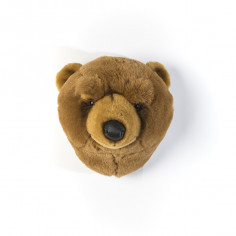 peluche murale ours