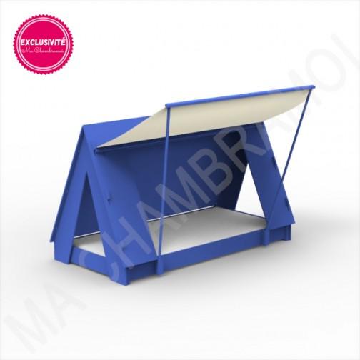 Lit Tipi Montessori bleu marseille