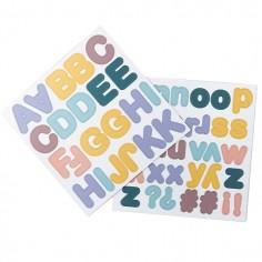 Magnets Alphabet Pastel
