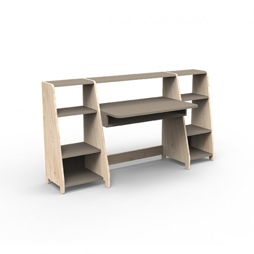 Bureau-montessori-avec-étagères-lin