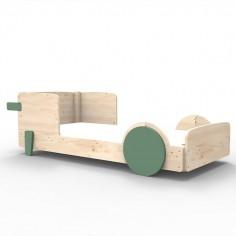 lit voiture vert montessori