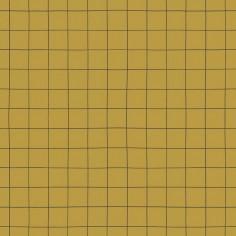 Papier Peint à carreau moutarde