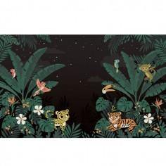 Papier Peint Décor géant jungle