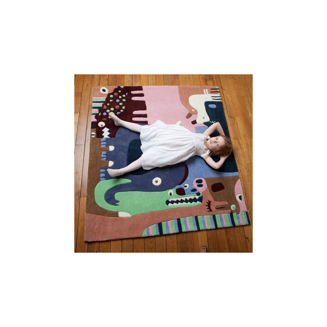 tapis enfant puzzle animaux art for kids ma chambramoi. Black Bedroom Furniture Sets. Home Design Ideas