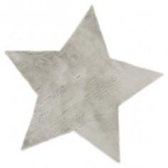 Tapis enfant Etoile gris clair - Pilepoil