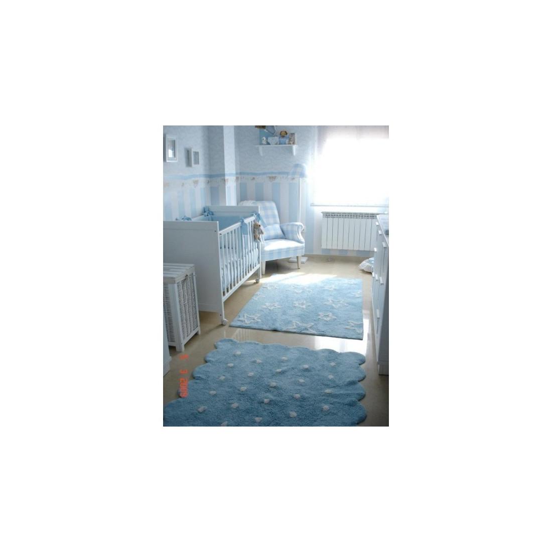 tapis enfant lavable bleu galetta lorena canals ma. Black Bedroom Furniture Sets. Home Design Ideas
