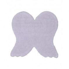 Tapis enfant lavable Ailes d'ange blanc Lorena Canals