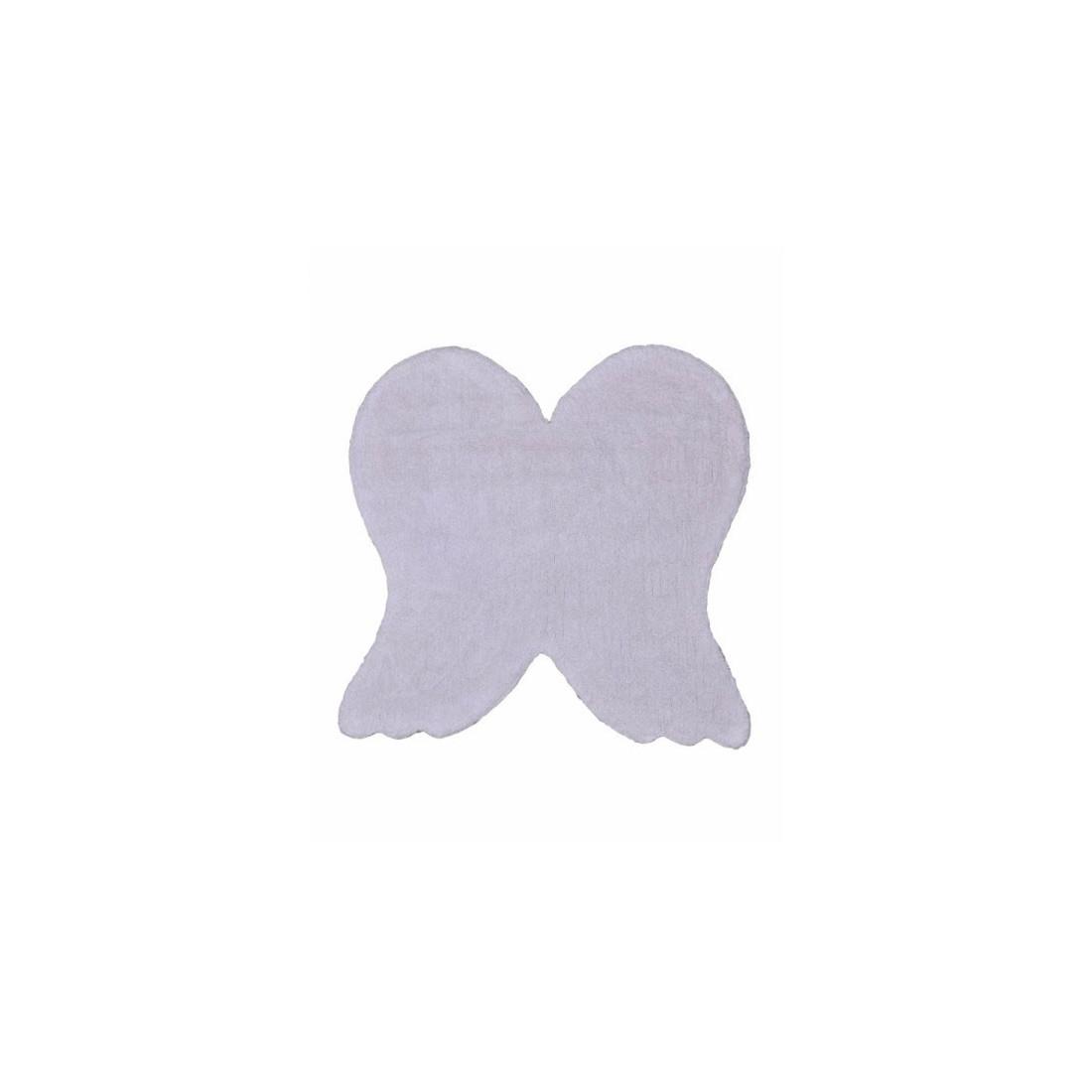 tapis enfant lavable ailes d 39 ange blanc lorena canals ma chambramoi. Black Bedroom Furniture Sets. Home Design Ideas