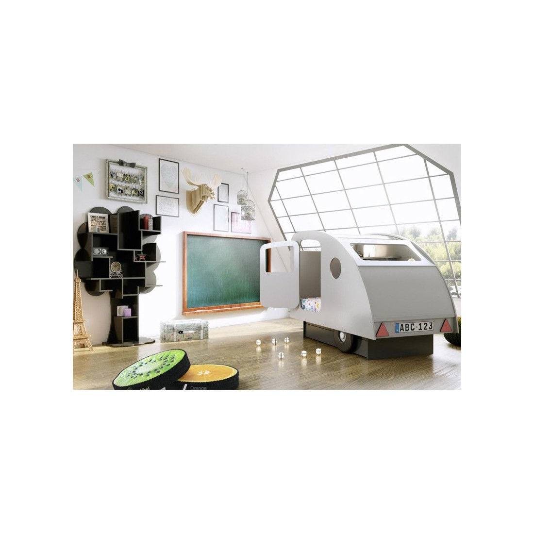 lit enfant caravane mathy by bols ma chambramoi. Black Bedroom Furniture Sets. Home Design Ideas