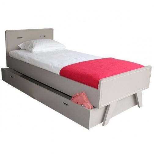 Lit enfant madavin avec tiroir mathy by bols ma chambramoi - Lit simple avec lit tiroir ...