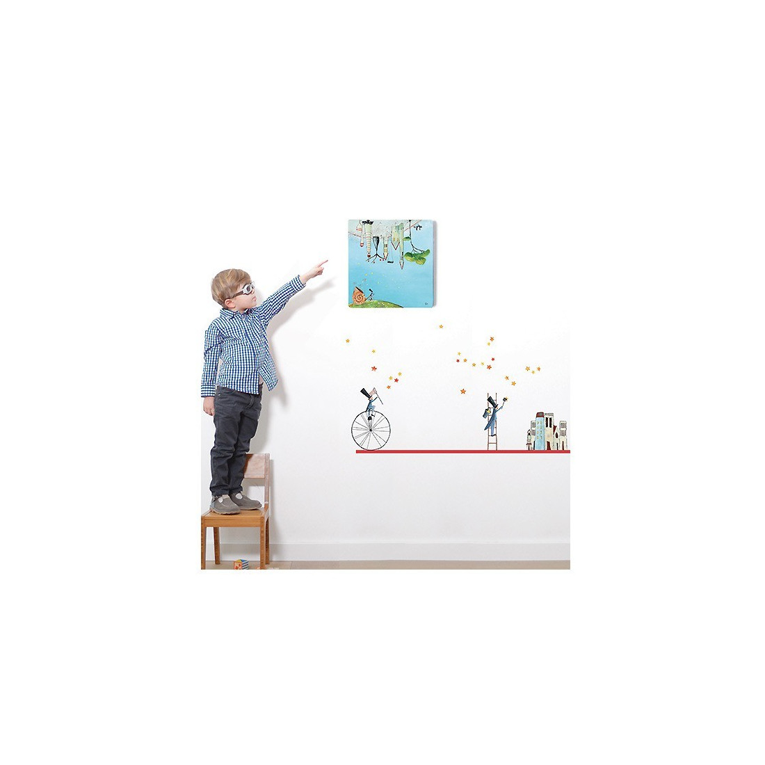 Sticker Enfant Les Semeurs D'Étoiles Lilipinso - Ma Chambramoi