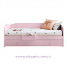 Lit banquette enfant avec tiroir lit Redondela Asoral
