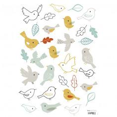 Stickers pour enfant Les oiseaux Lilipinso