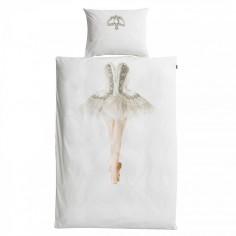 Housse de couette enfant 3D ballerine Snurk avec taie