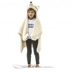 Déguisement enfant Ours blanc peluche Bibib