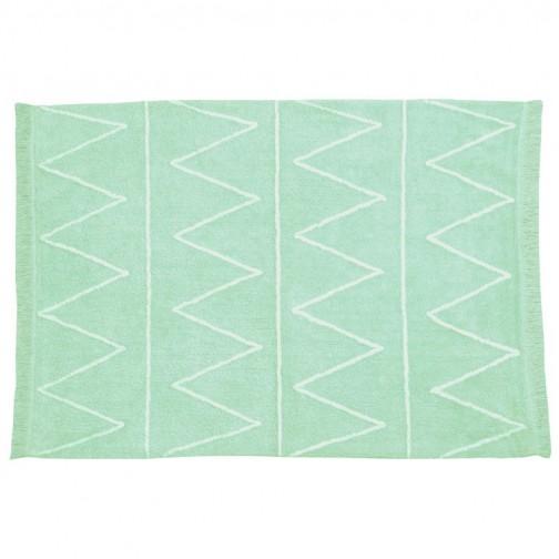 tapis enfant lavable hippy vert ma chambramoi. Black Bedroom Furniture Sets. Home Design Ideas