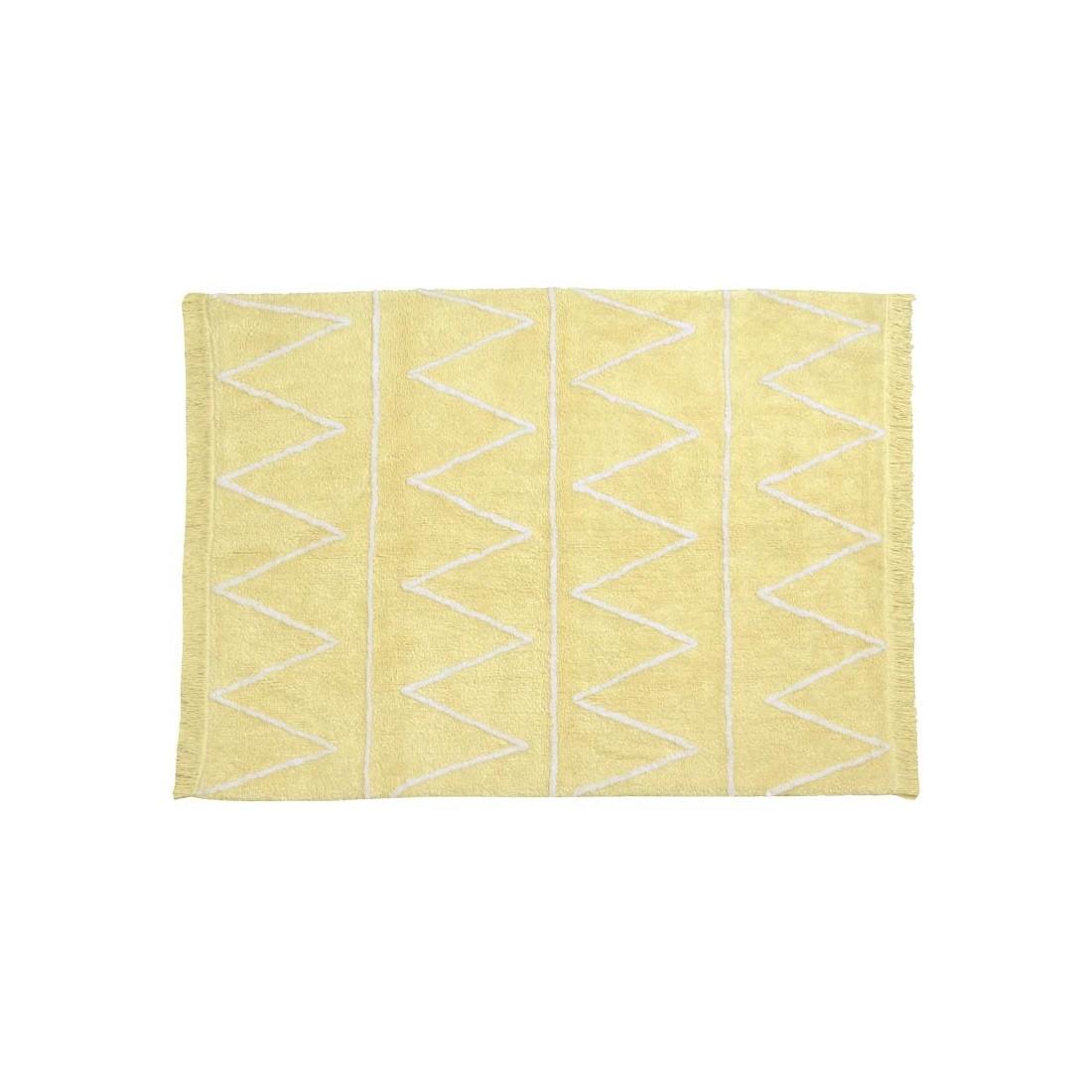 tapis enfant lavable hippy jaune ma chambramoi. Black Bedroom Furniture Sets. Home Design Ideas