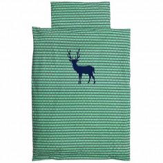 Housse de couette enfant Deer blue - Taftan