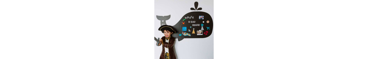 chambre enfant mer pirates d co mer et pirates pour chambre d 39 enfant ma chambramoi. Black Bedroom Furniture Sets. Home Design Ideas