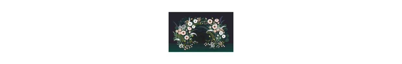 Chambre enfant fleur : déco fleurs pour chambre fille et chambre bébé