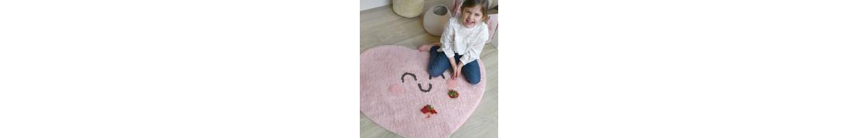 Chambre enfant jardin : décoration cœur pour chambre coeur, bébé fille