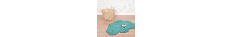 Chambre enfant étoile nuage : déco étoile, tapis et stickers étoile