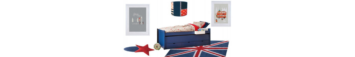 chambre enfant londres d co 100 london pour chambre d 39 enfant ma chambramoi. Black Bedroom Furniture Sets. Home Design Ideas