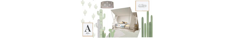 Déco Chambre enfant Cactus Arizona