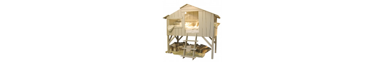 lit cabane personnalisable nos lits cabane enfant et b b modulables ma chambramoi. Black Bedroom Furniture Sets. Home Design Ideas