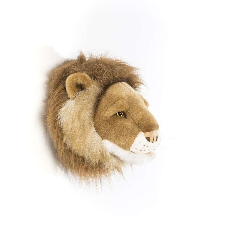 trophee peluche lion